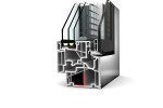 Doppia finestra PVC/alluminio KV 440 di Internorm