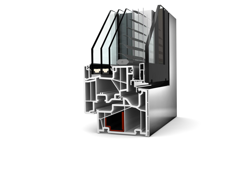 Doppia finestra pvc alluminio kv 440 di internorm il for Internorm g wert