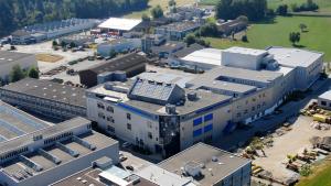 Quartier Generale di Stobag, Muri AG, Svizzera è il più grande e moderno d'Europa