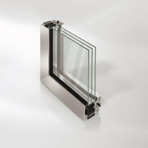 Sistemi per fineste e porte finestra AWS 75 BS.HI+ di Schüco