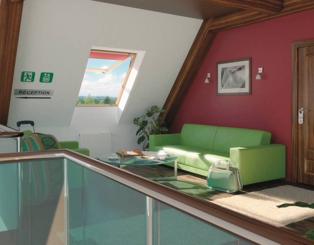 Finestre da tetto fep di fakro - Finestre a tetto ...