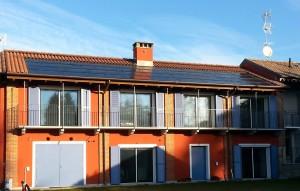 Casa Attiva a Galliate in provincia di Novara. Finestre da tetto Fakro FTT U6 Thermo