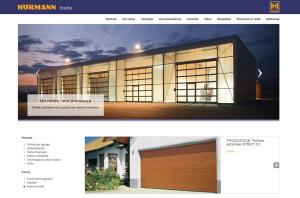 Homepage del nuovo sito di Hörmann