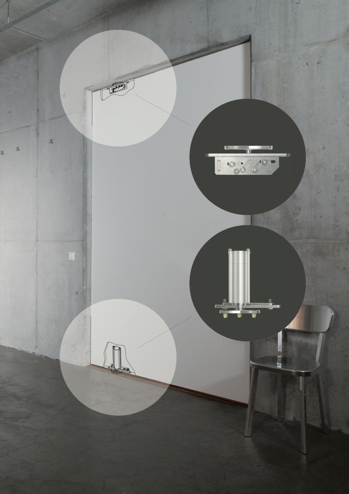 FritsJurgens® sistema per porte a bilico
