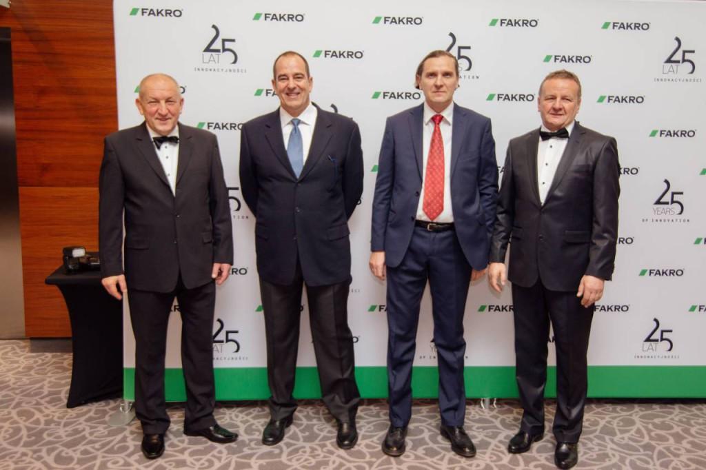 Da sinistra Ryszard Florek- Bruno Pernpruner- Jaroslaw Stadnik- Krzysztof Kronenberger