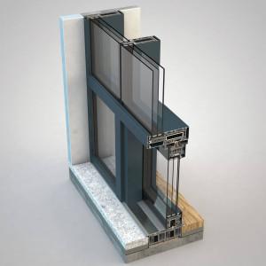 FIN-Project, parete vetrata Vista Cristal