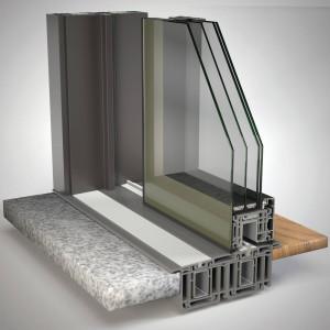FIN-Project Porta alzante scorrevole Cristal