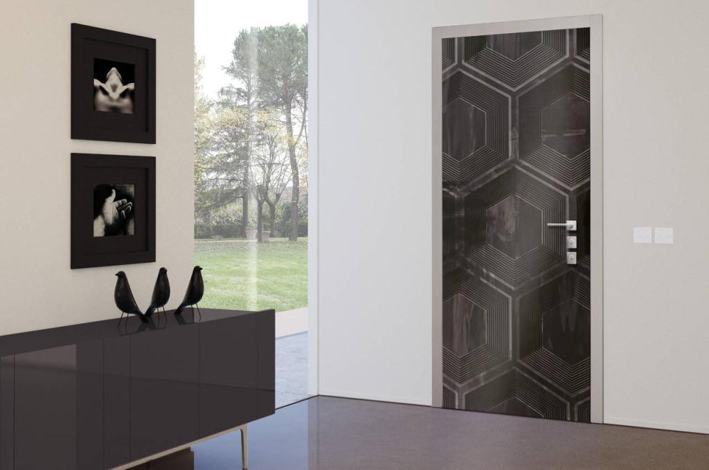 Porta VENICE con pannello Honeycomb di Andrea Castrignano