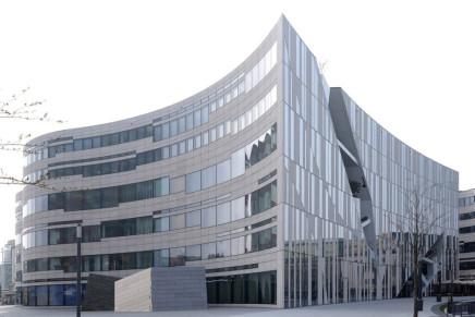 Hörmann per il Kö-Bogen I a Düsseldorf – Daniel Libeskind