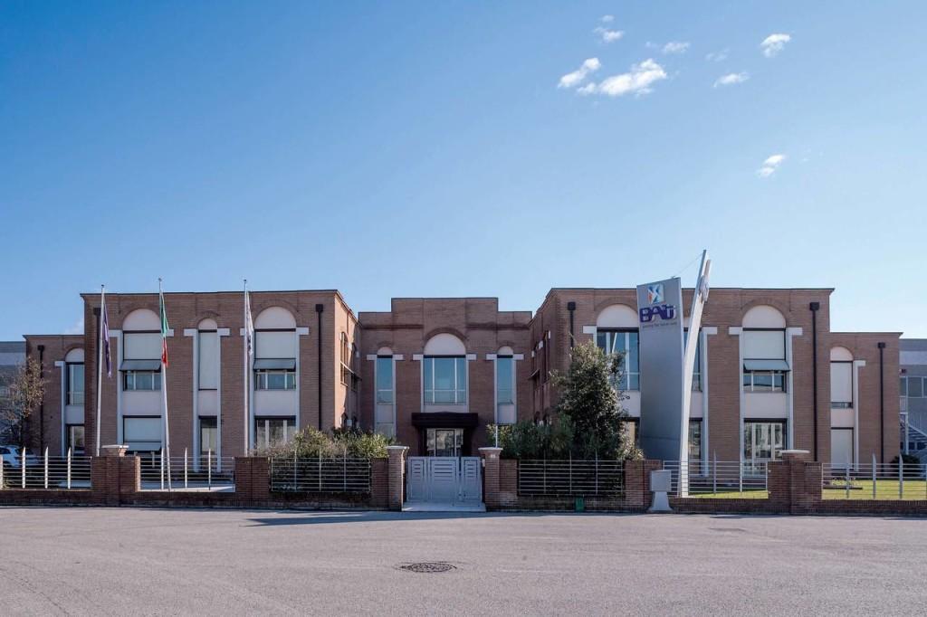 Headquarter dell'azienda BAT a Noventa di Piave, in provincia di Venezia