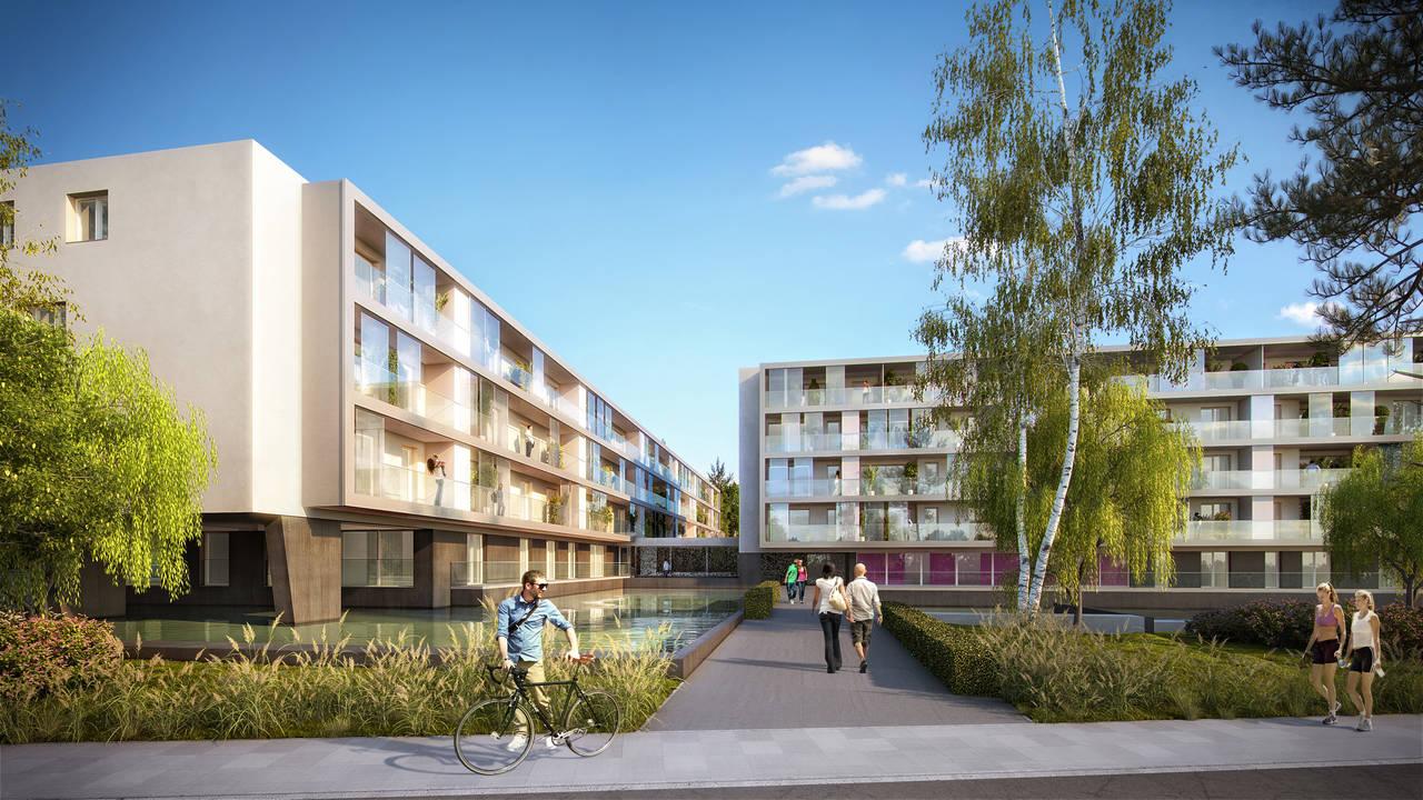 Complesso residenziale Les Étangs nel distretto di Mondorf-les-Bains