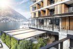 """Prestigiose schermature solari per il """"Sereno hotel"""" di Como"""