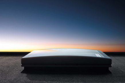 Finestra per tetti piani Velux con tecnologia CurveTech