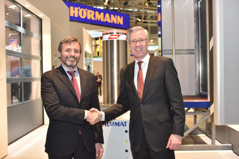 La maggioranza azionaria dell'azienda italiana Pilomat a Hörmann