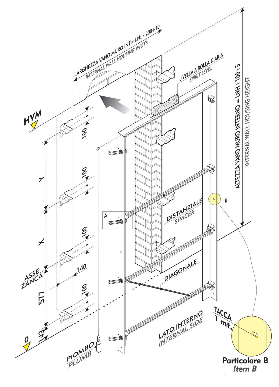 Dierre sleek prende ispirazione dall ingegneria aeronautica - Montare telaio porta ...