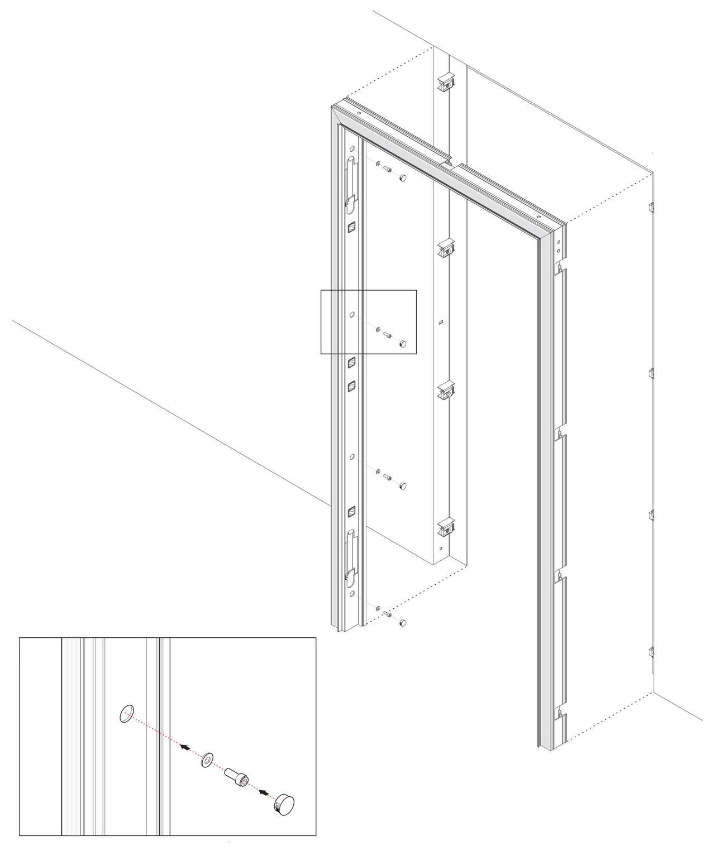 Regolazione Cerniere Porta Blindata Orange