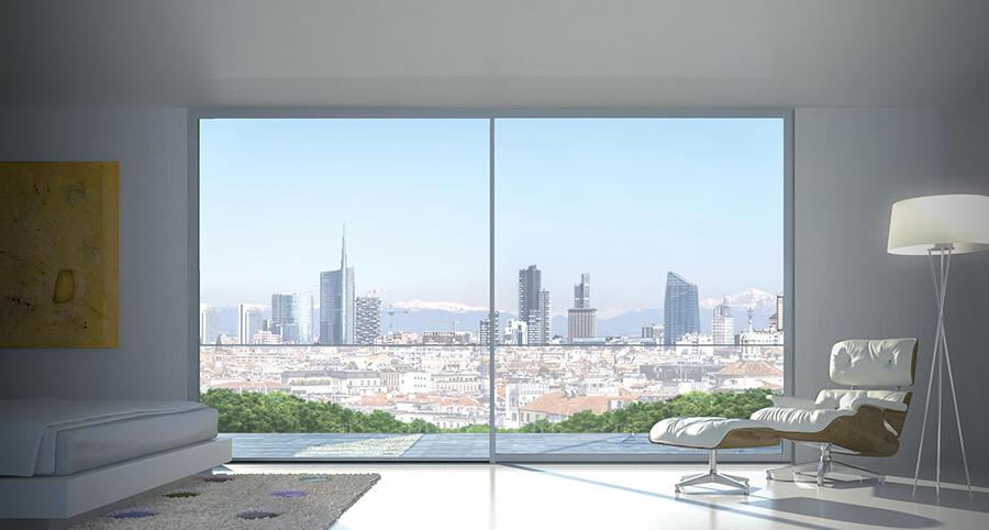 Il design si mette in luce con il nuovo scorrevole domal - Dimensioni finestre scorrevoli ...