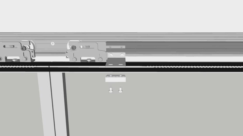 Automazioni t120 e t240 di topp per porte scorrevoli pedonali - Meccanismo porte scorrevoli ...