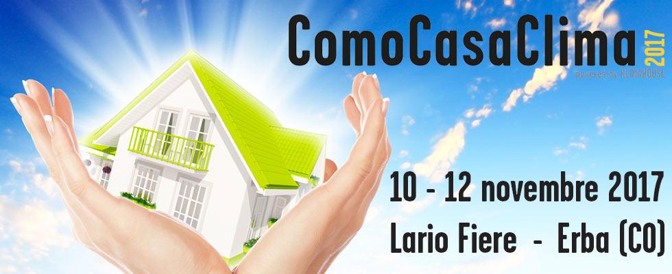 Il prossimo novembre si terrà la seconda edizione di ComoCasaClima