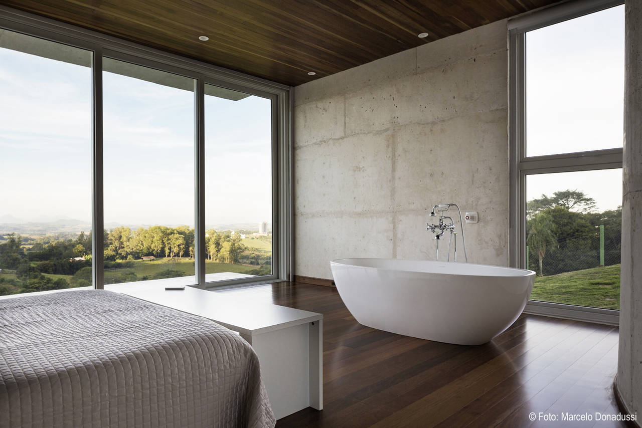Design Di Interni Ed Esterni : I profili rehau creano un effetto di continuità fra interno ed esterno