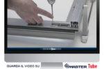 MasterTube SP160: il sistema scorrevole per infissi di grandi dimensioni