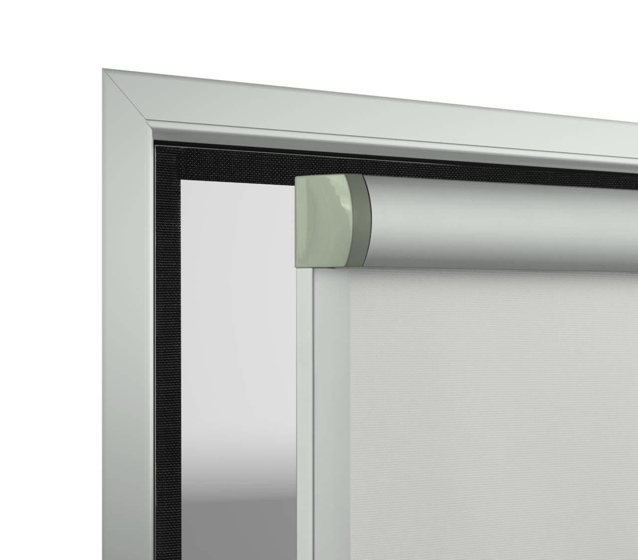 Tende Per Finestre A Ribalta tende rollbox 140 e 60: installazione anche senza foratura