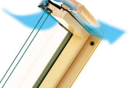 Tecnologia Fakro: un ricambio d'aria anche a finestra chiusa