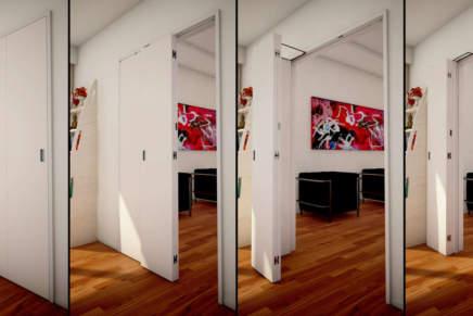 COMPACK® Living di Celegon: apertura a 180° anche per porte a 3 ante