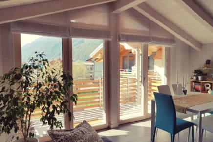 Porta finestra Alpilegno: vivere a contatto con la natura
