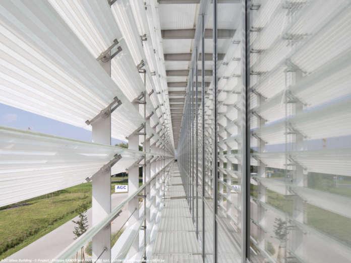 Architectural glass visualiser
