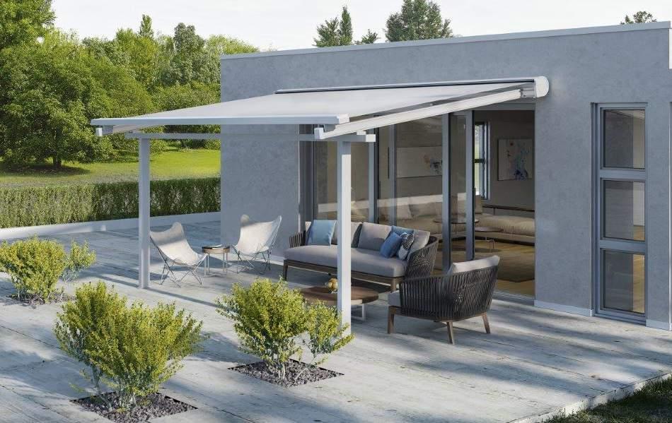 Tende Da Sole Patio : Tende da sole space di ke ideale per verande e attici