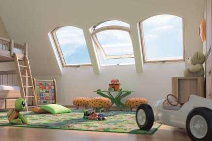 Finestre ad arco: dinamismo e stile per la mansarda