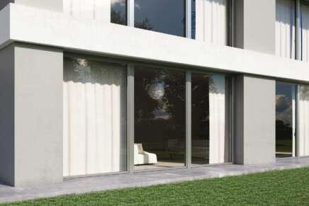 Rivestimenti per finestre: una casa dall'aspetto urban style