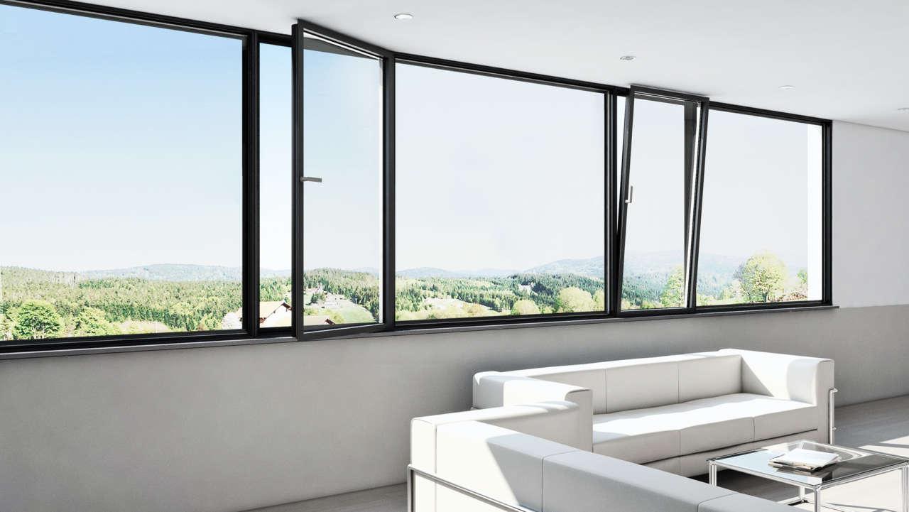 Finestre panoramiche Shüco