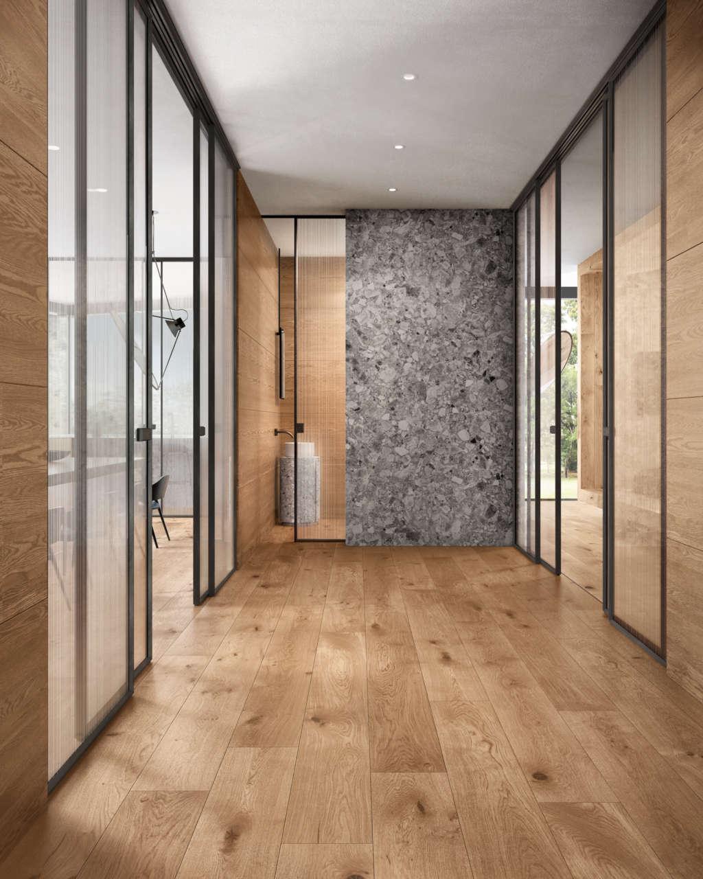 Porte di legno massiccio